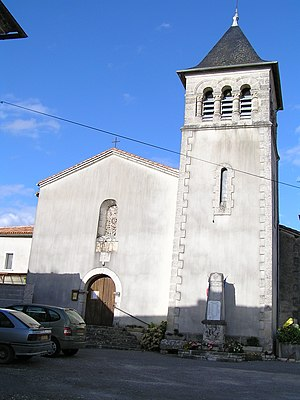 Anais, Charente - The Church