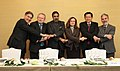 Anand Sharma with his counterparts from BRICS (Brazil, Russia, India, China and South Africa), countries, at the BRICS Ministerial meeting, on the sidelines of 8th Ministerial Conference of WTO, at Geneva.jpg