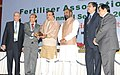 Ananth Kumar presented the awards at the inauguration of the annual seminar of Fertilizer Association of India, in New Delhi. The Minister of State for Chemicals & Fertilizers, Shri Hansraj Gangaram Ahir, the Secretary.jpg