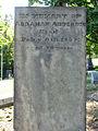 Anderson (Abraham), Oak Spring Cemetery, 2015-09-17, 01.jpg