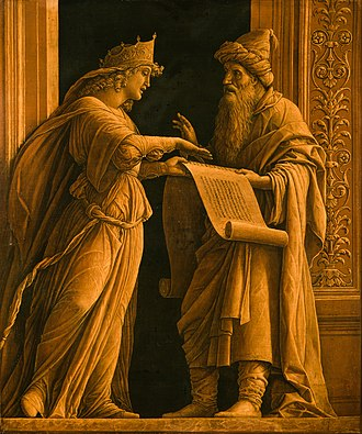 Cincinnati Art Museum - Image: Andrea Mantegna A Sibyl and a Prophet Google Art Project