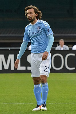 Pirlo in 2016 bij New York City