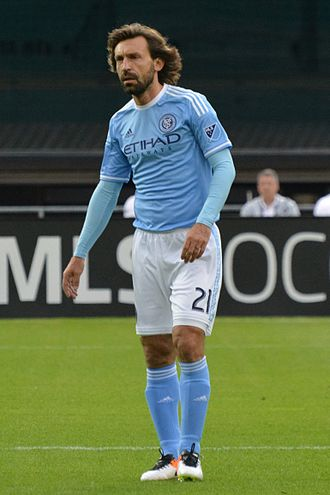 Andrea Pirlo - Pirlo playing for New York City in 2016