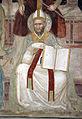Andrea di bonaiuto, apotesosi di san tommaso d'aquino, scienze ed arti 07 Predicazione e sant'Agostino 3.JPG