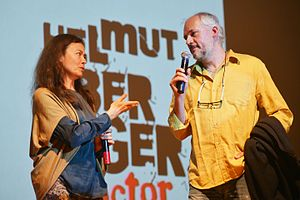 Andreas Horvath - Horvath with his wife Monika Muskala during FotoArtFestival, 2015
