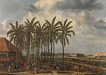 Jakarta-Colonial era-Andries Beeckman - The Castle of Batavia
