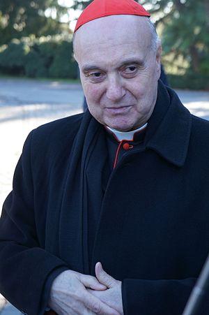 Angelo Comastri - Image: Angelo Cardinal Comastri