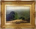 Angelo morbelli, angolo di giardino (con sfondo di paesaggio), 1912.jpg