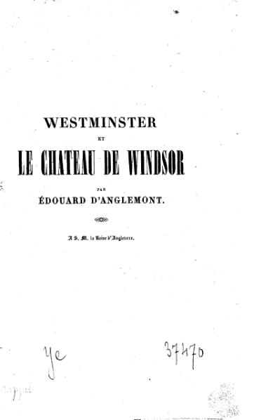 File:Anglemont - Westminster et le Château de Windsor, 1838.djvu