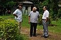 Anjan Bose Talks With Ministerial Officer And Ganga Singh Rautela - Aurora Studio - 34-1 - Block GN - Sector V - Salt Lake City - Kolkata 2012-10-06 1556.JPG