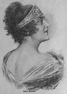 Anna Kallina Austrian actress