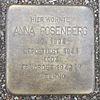 Stolperstein für Anna Rosenberg