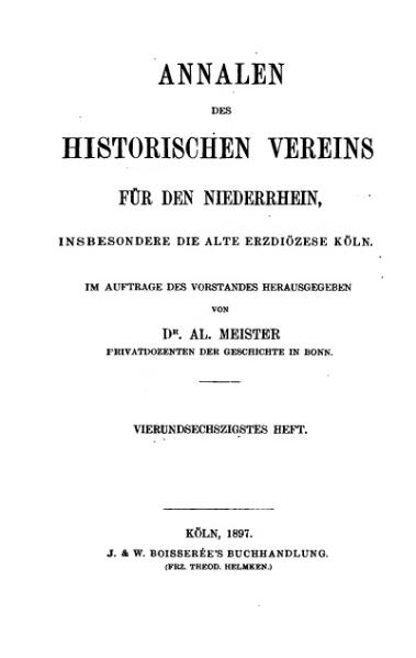 File:Annalen des Historischen Vereins für den Niederrhein 64 (1897).djvu