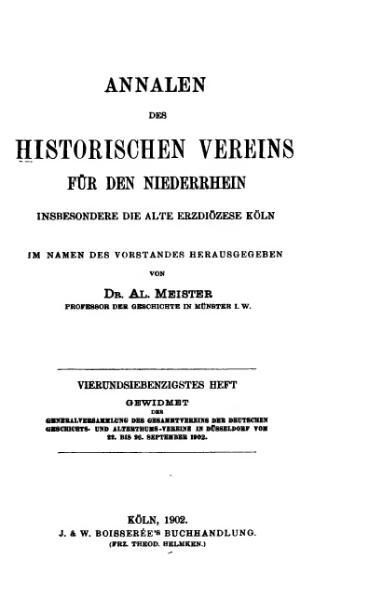 File:Annalen des Historischen Vereins für den Niederrhein 74 (1902).djvu