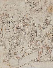 Święty Jan Ewangelista wskrzesza Druzjannę