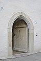Ansitz Oberpray Kastelruth Gotische Eingangstür.JPG