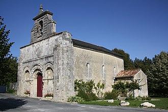 Antezant-la-Chapelle - Image: Antezant Eglise 1