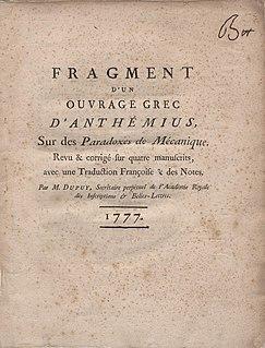 Anthemius of Tralles