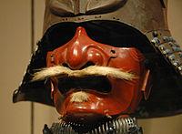 Antique Japanese (samurai) menpo 2.jpg