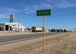 Anton, Colorado Unincorporated community in State of Colorado, United States
