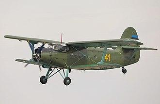 Antonov An-2 - An-2 of the Estonian Air Force