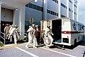 Apollo 10 crew walk to transfer van (S69-35315).jpg