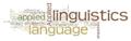 Appliedlinguistics wordle2.png