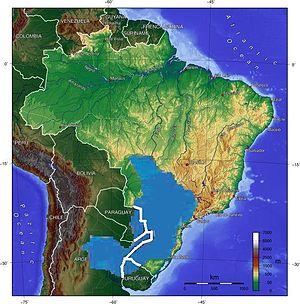 Resultado de imagen para acuifero guarani