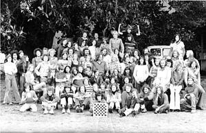 Brinsley Road Community School - Argo Street School students and staff, circa 1975