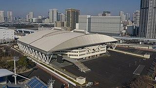 Ariake Coliseum An indoor sporting arena in Japan
