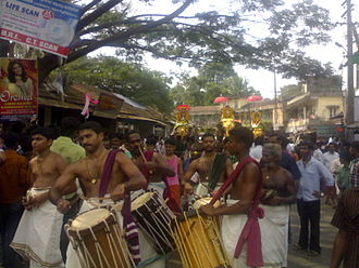 Kanjirappally - Sree Madhura Meenakshi Temple procession