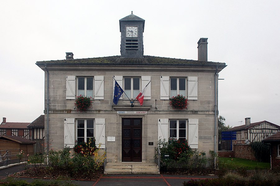 Mairie d'Arrigny (Marne).