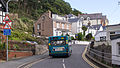 Arriva Wales 912 on route 19 in Llandudno, about to drive up a road unsuitable for buses! (7876329738).jpg