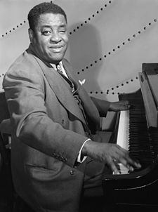 O pianista de jazz Art Tatum, en una imachen de 1948 obra de William P. Gottlieb.