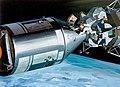 Artist concept of Apollo 9 extravehicular activity (S69-18547).jpg