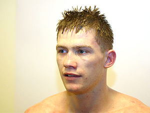 English: Photo of kickboxer Artur Kyshenko Ned...