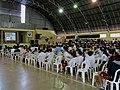 Astronauta Marcos Pontes dando palestra no Colégio Nossa Senhora do Calvário (Colegião) em Catanduva-SP. após a palestra, o primeiro brasileiro a ir ao espaço autografou livros e tirou fotos com os alu - panoramio.jpg