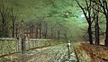 Atkinson Grimshaw - A Moonlit Evening (1880).jpg