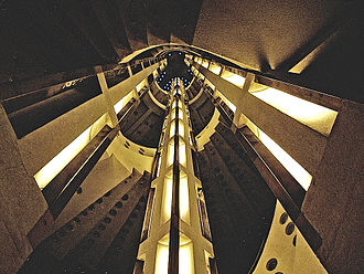 Atlantis House - The Art Deco staircase