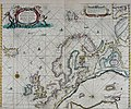 Atlas maritimus, or A book of charts - Describeing the sea coasts capes headlands sands shoals rocks and dangers the bayes roads harbors rivers and ports, in most of the knowne parts of the world. (14753137642).jpg