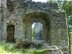 Gaujiena Castle - Image: Atsele ordulinnus 4
