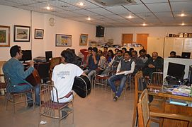 Attendees enjoyed musical session at BNWIKI12 celebration in Chittagong (18).jpg