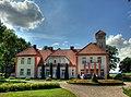 Auči manor house - built in 1926 as a residence of family of the first president of Latvia Jānis Čakste - panoramio.jpg