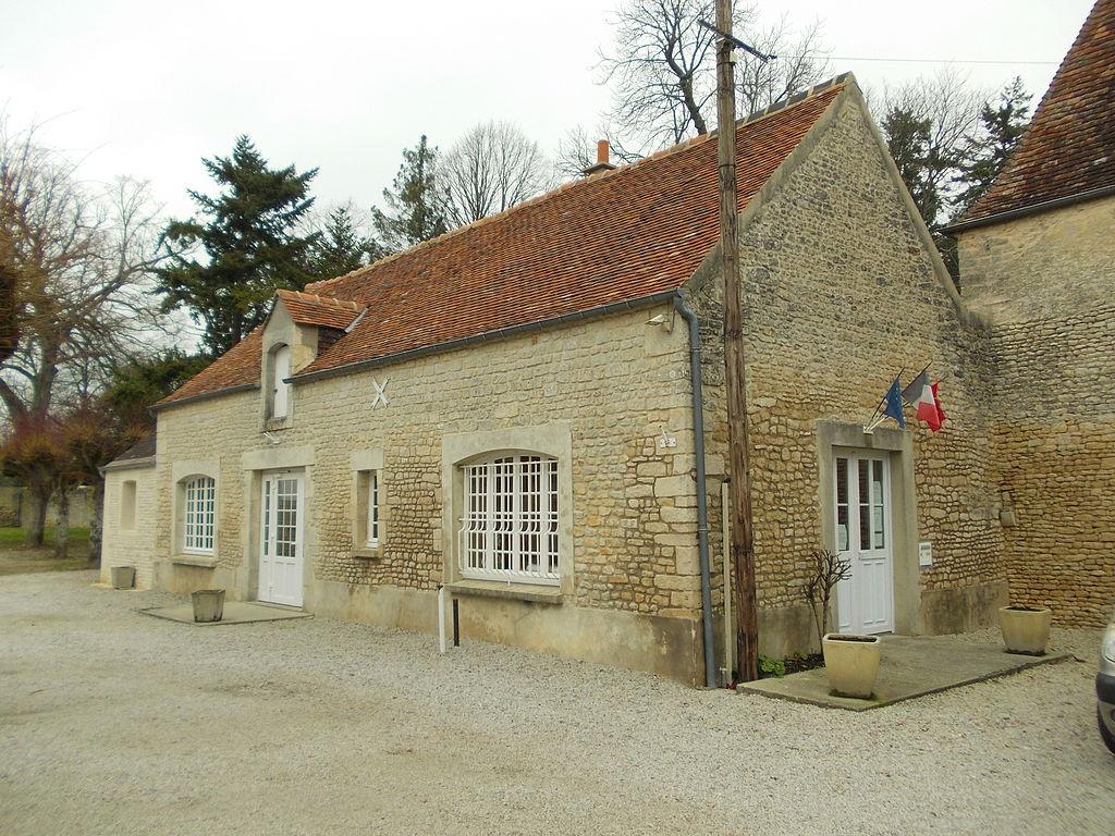 Aubigny (Calvados), mairie.JPG
