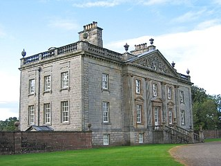 Auchinleck House house in Dumfries and Galloway, Scotland, UK