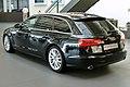 Audi A6 Avant 3.0 TDI quattro S tronic Phantomschwarz Heck.JPG