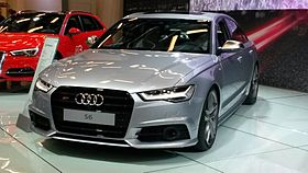 Audi S6 in Salon International de l'auto de Montréal 2015.jpg