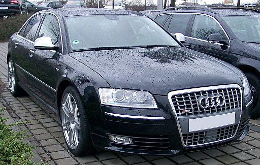 Audi S8 front 20080303