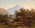 August Behrendsen - Region in South Tyrol–Landscape in the Morning Light.jpg