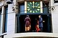 Automaton clock in Rua de Santa Catarina (Porto).jpg